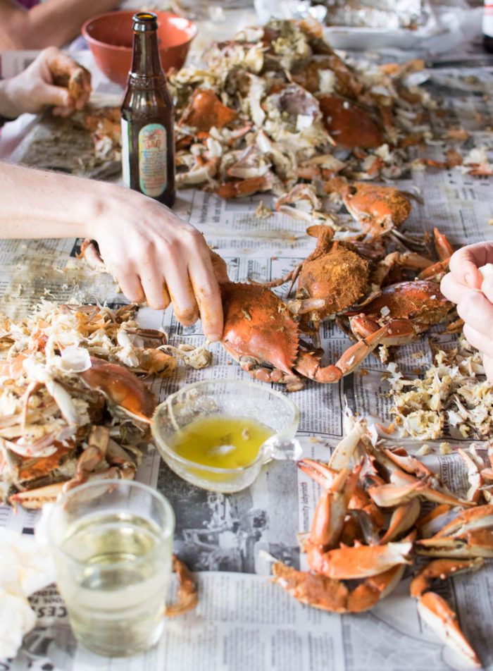 Old Bay Steamed Crabs Feast