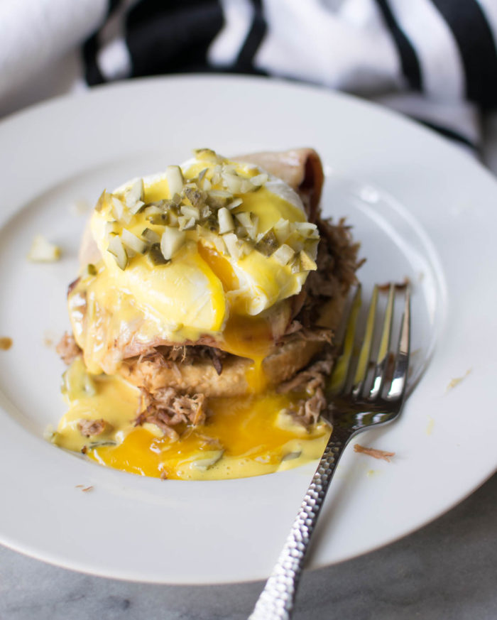 Cuban Eggs Benedict