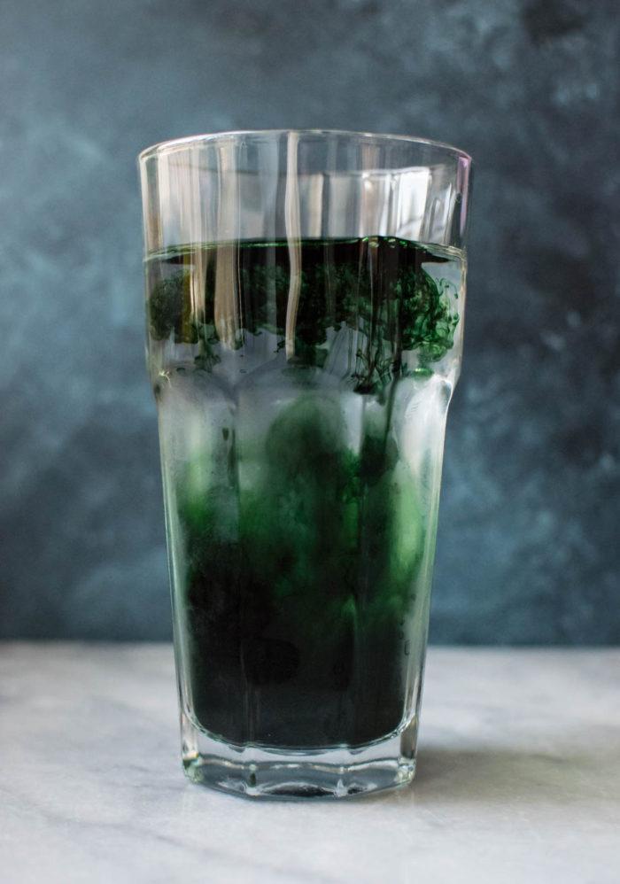 Liquid Chlorophyll: Not so Borophyll | Carolyn's Cooking