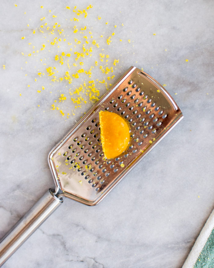 Cured Egg Yolk grated