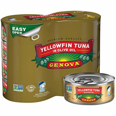 Tuna packed in oil
