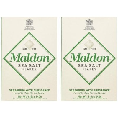 Maldon Sea Salt Flakes two pack