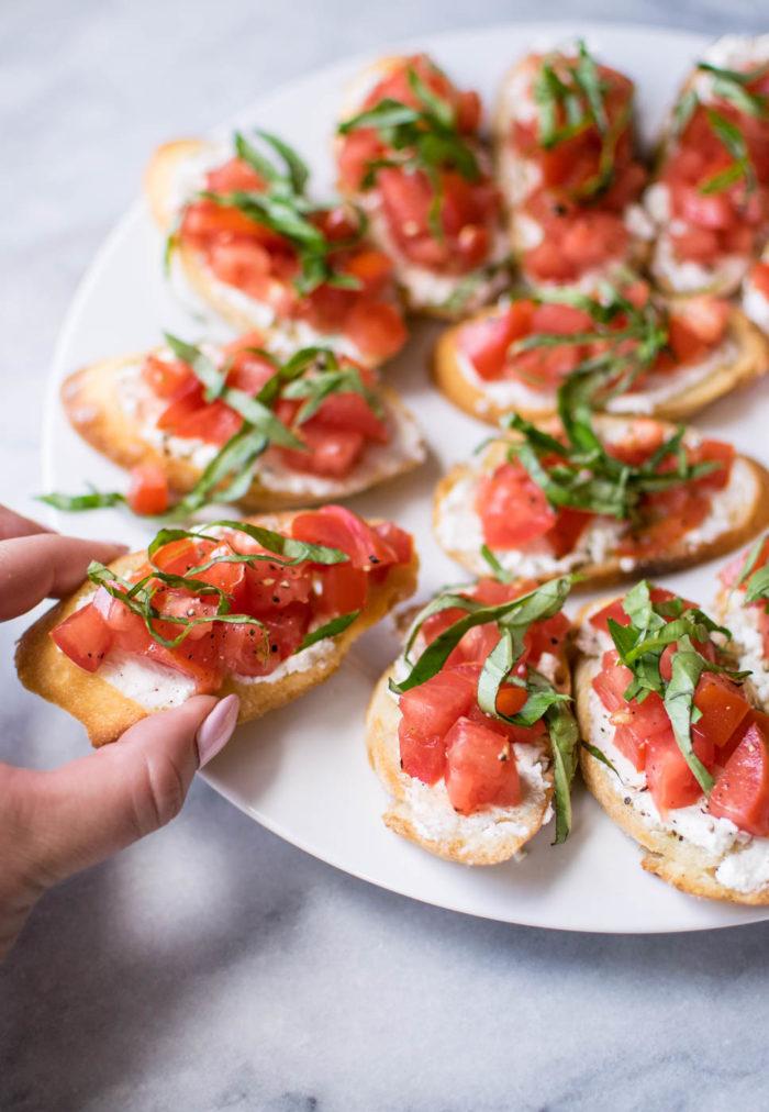 Italian Bruschetta Platter