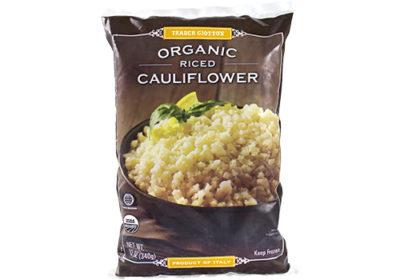 frozen Organic cauliflower rice