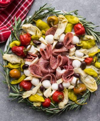 Holiday Antipasto Platter