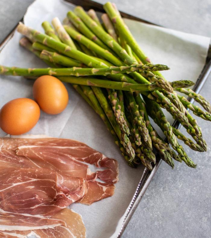 Asparagus Mimosa ingredients