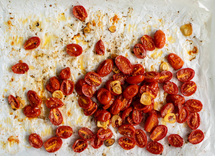 simple roasted tomatoes