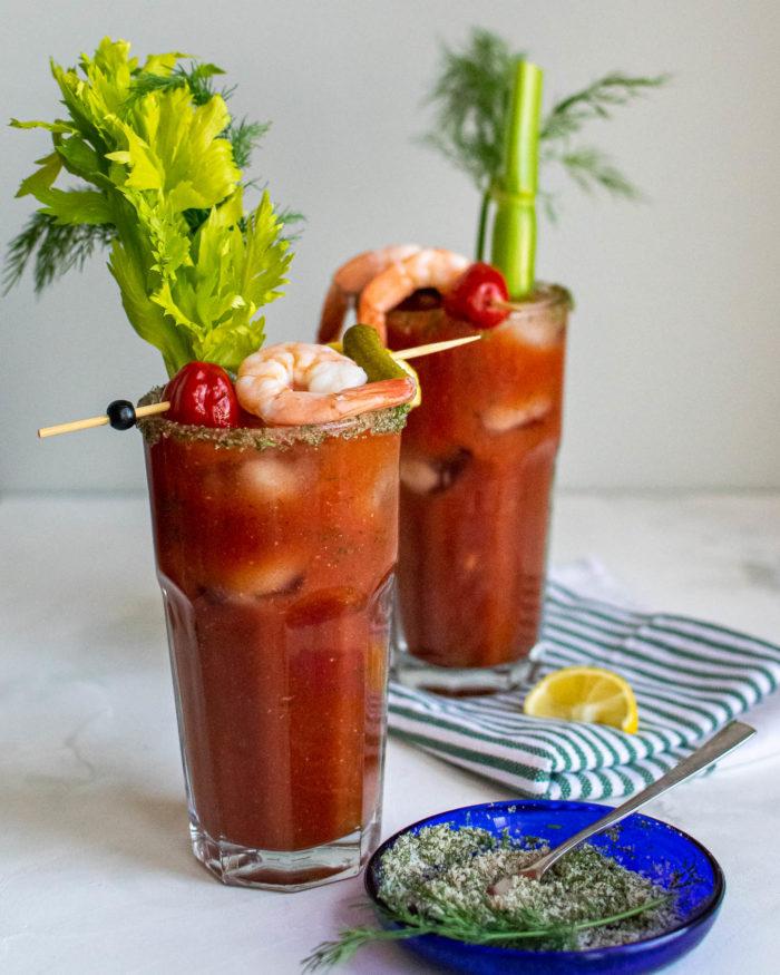 Aquavit Bloody Mary