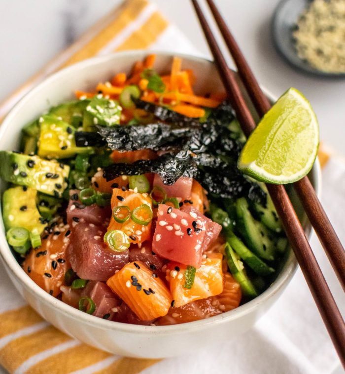 Whole30 Poke Bowl