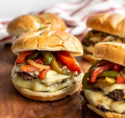 Cheesesteak Burger